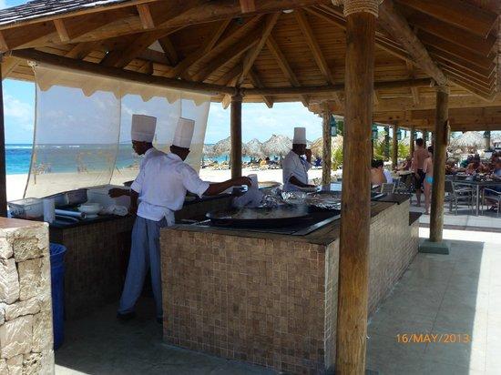 Iberostar Punta Cana: Chaud chaud !