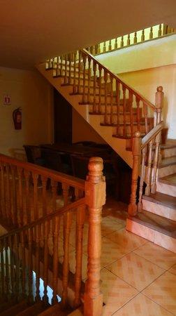 Hotel Isluga: escalier principal