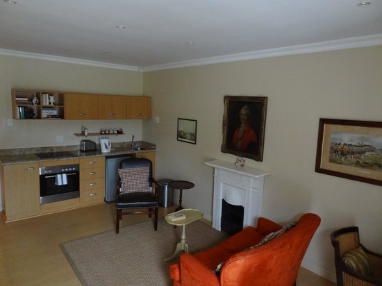 Belvedere Cottages & B&B: Lounge/Kitchen Area