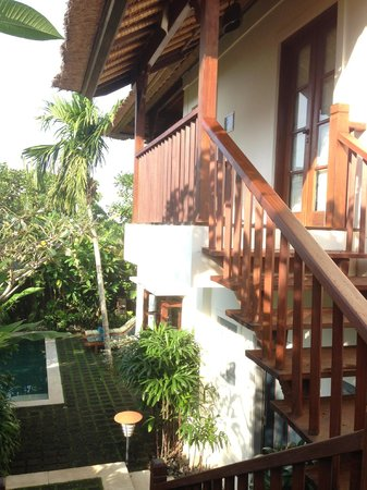Plataran Canggu Resort & Spa: Split-level pool villa