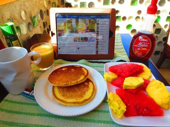 Camino Verde Bed & Breakfast Monteverde: My delicious breakfast