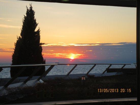 Hotel Histrion: Sonnenuntergang auf der Promenade