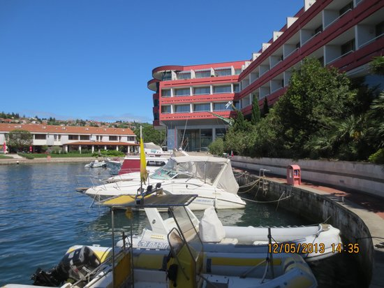 Hotel Histrion: Ein Blick auf den Minihafen.