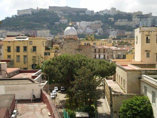 Come d'incanto a Napoli: Vista sopra la citta