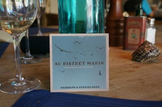 Au bistrot Marin : Business card