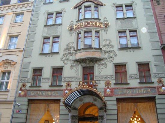 Picture of k k hotel central prague for Central prague