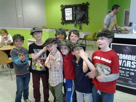 Battlefield Live Dundee: The boys ready for battle!!!
