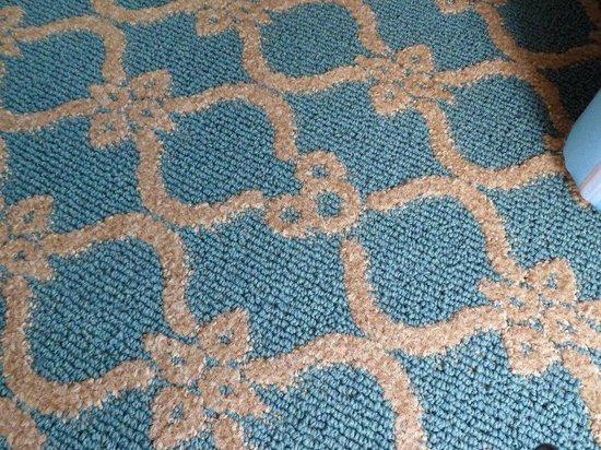 Disney's BoardWalk Villas: carpet detail