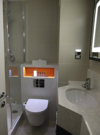 DoubleTree by Hilton London Ealing: new - good shower - needs a once over re finishings to keep it up to scratch