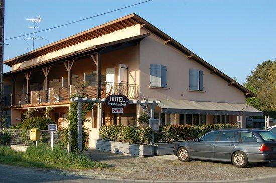 Hotel Transaquitain : Cotés est-nord