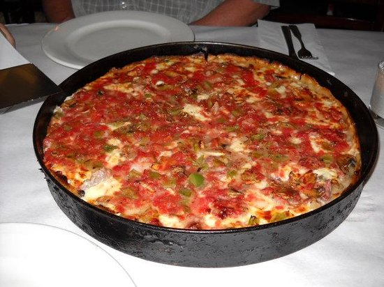 """Pizano's Pizza & Pasta: The famous """"Rudy's Special"""""""