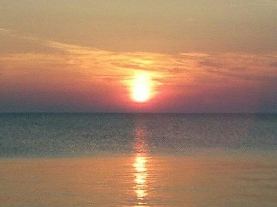 On Pelee Time: The sunset was beautiful!