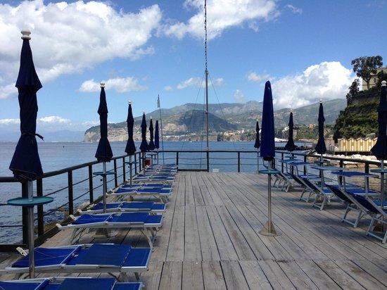 Veduta dal ristorante bagni delfino picture of ristorante bagni