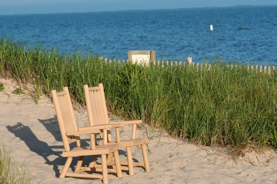 Chatham Tides: Adirondack Chairs On Private Beach