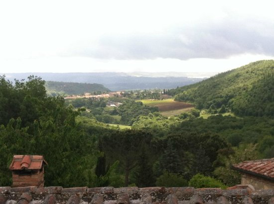 Sant' Antonio: View from our kitchen window