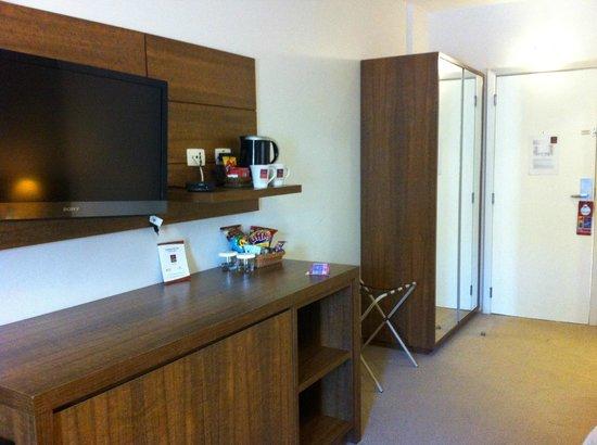 Comfort Suites Flamboyant : Cafés e chás disponíveis no quarto