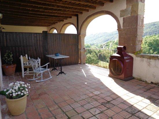 Mas Can Batlle: Terrace balcony of room 70
