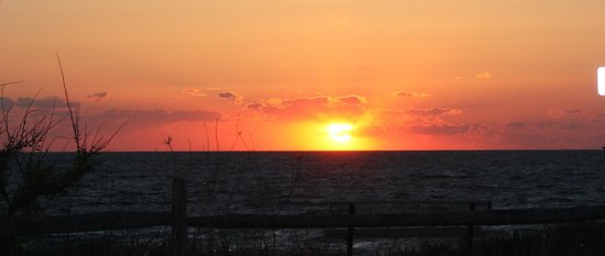 Sunset Over Delaware Bay from Dolphin Watch