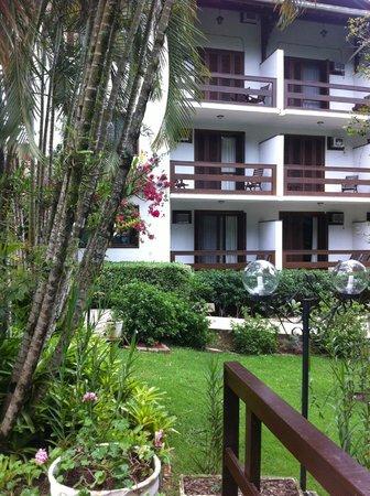 Timbo Park Hotel: Apartamentos frente jardim