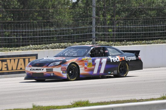 Richard Petty Driving Experience: Around the track