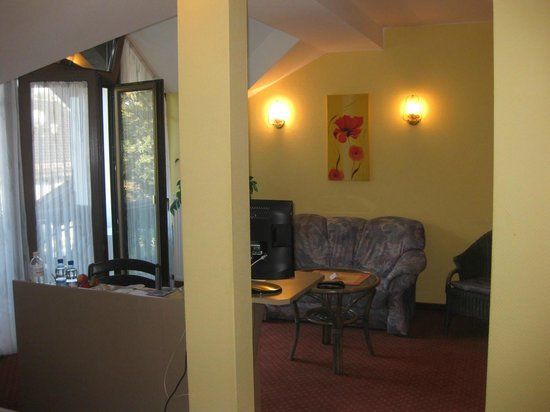 Richstein's Posthotel: Our double room
