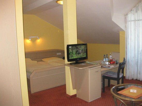 Richstein´s Posthotel: Our double room