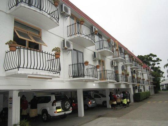 Hacienda Airport Motel: Hotellets framsida