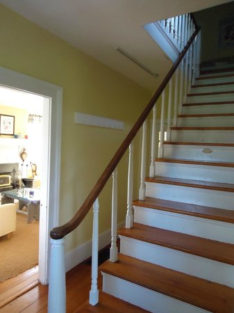 The Miller's House Bed and Breakfast: Staircase...