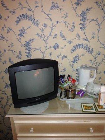 Tufton Arms Hotel: flat screen tv?