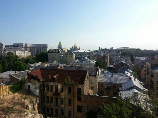 Hyatt Regency Kiev: view from suite