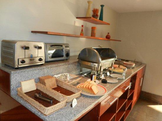 Casa Andina Classic Miraflores San Antonio: salon para desayunar