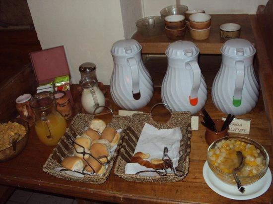 Hostería Nogare: Desayuno