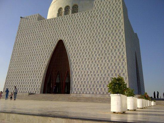 Mazar-E-Quaid : The front view