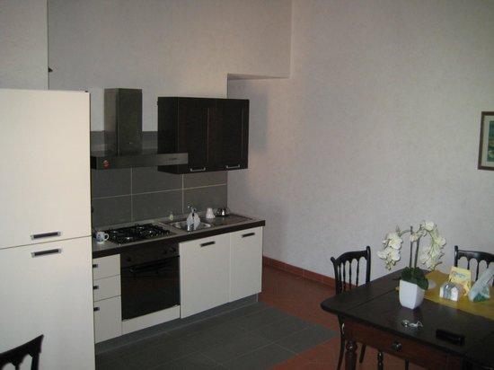 Borgo di Casagrande: kitchen