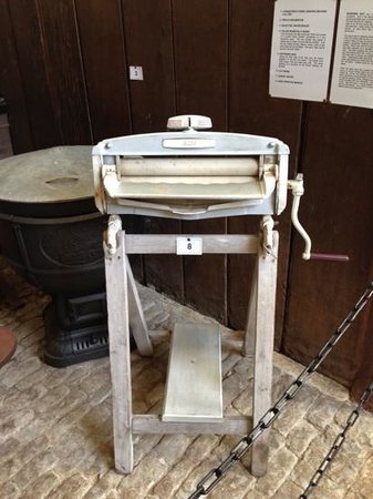 Boughton House: mangle remembered from 1971