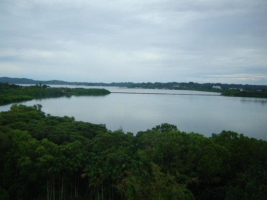 Cliffside Hotel Palau : view from room
