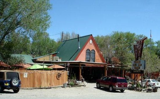 Taos Trail Inn: The new office & Restaurant & Brewery