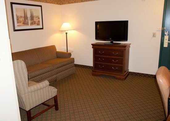 Country Inn & Suites By Carlson, Appleton North: King Suite (pull out sofa)