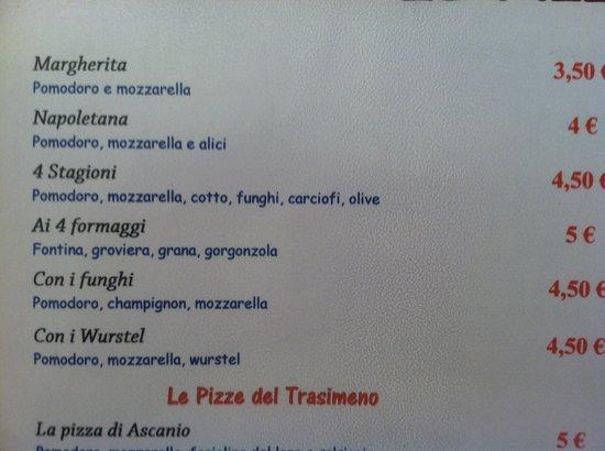 Locanda della Mercanzia : menu 2