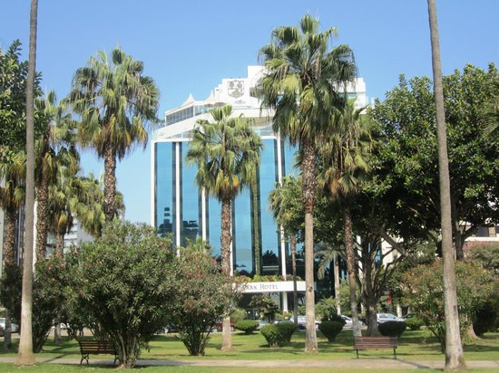 Belmond Miraflores Park: the Miraflores seen from the park