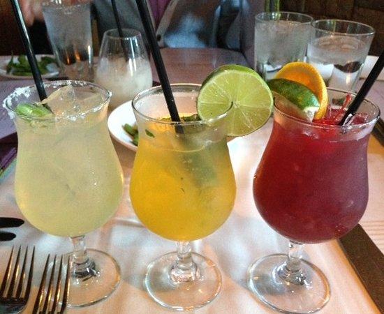Roy's Restaurant : Jalapeno Margarita, Mango Mojito, &  Sangria Red