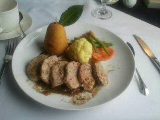 The Perfect Pear: pork medallions