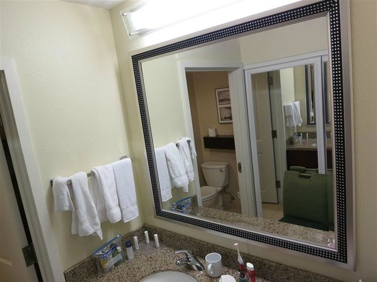 Residence Inn Seattle Bellevue/Downtown: bathroom sink area