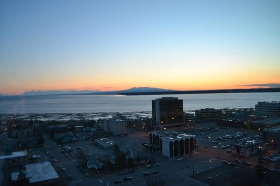 Anchorage Marriott Downtown : View from our room