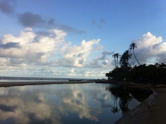 Jericoacoara Beach: A praia no inicio da manhã