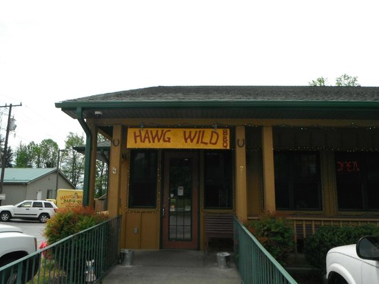 Hawg Wild Bar-B-Que Co: Hawg Wild entrance