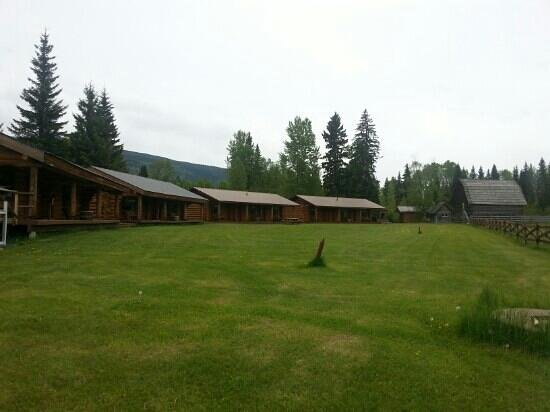 Wells Gray Guest Ranch: aussenansicht