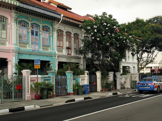 The Fragrance Hotel (Joo Chiat): Houses near Joo Chiat Road