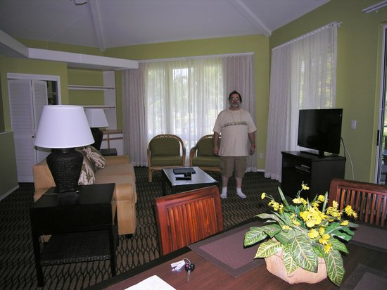 Wyndham Mauna Loa Village: The living room