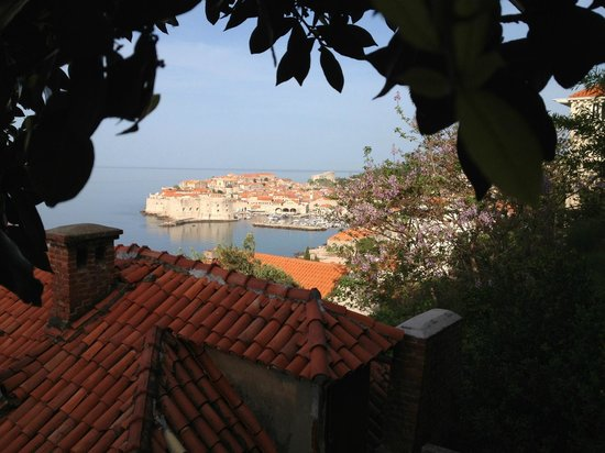 Villa Ragusa Dubrovnik: View from the terrace